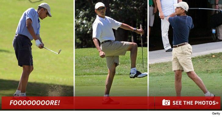 Barack Obama -- Foooooore!