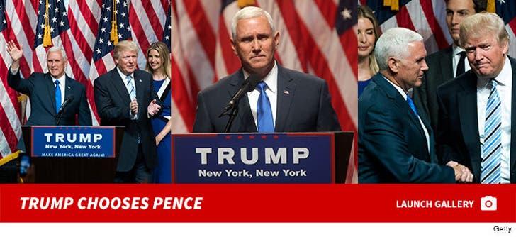 Trump Chooses Pence