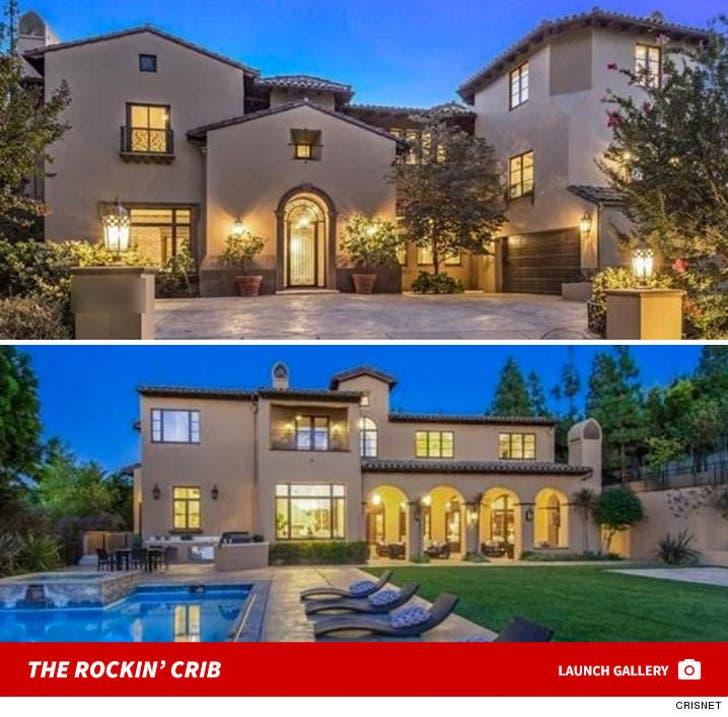 Big Sean Buys Slash's Rockin' Beverly Hills Mansion