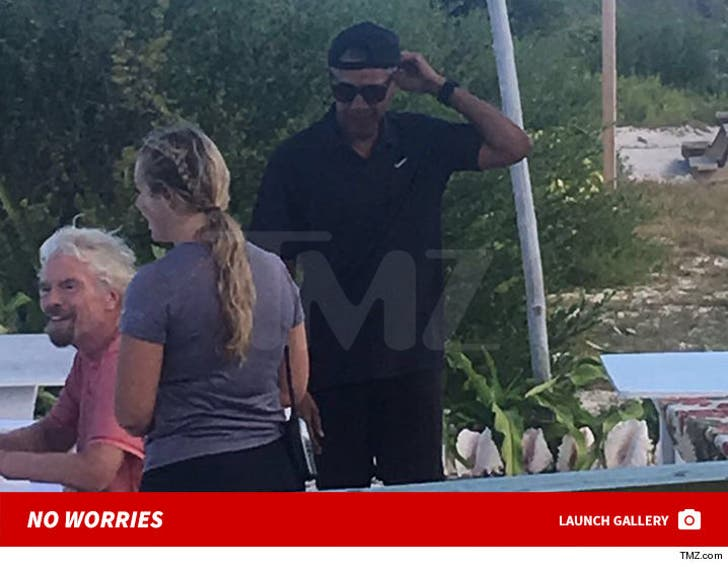 Obamas and Branson No Worries
