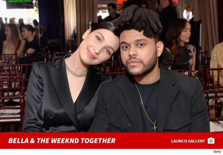Bella Hadid and the Weeknd Together Photos