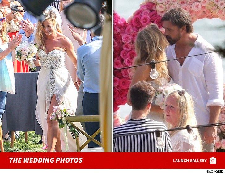 Denise Richards Marries Aaron Phypers -- The Wedding Photos