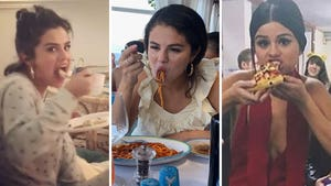 Selena Gomez Food Photos