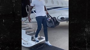 Julio Jones Lands in Tennessee In Private Jet After Being Traded to Titans
