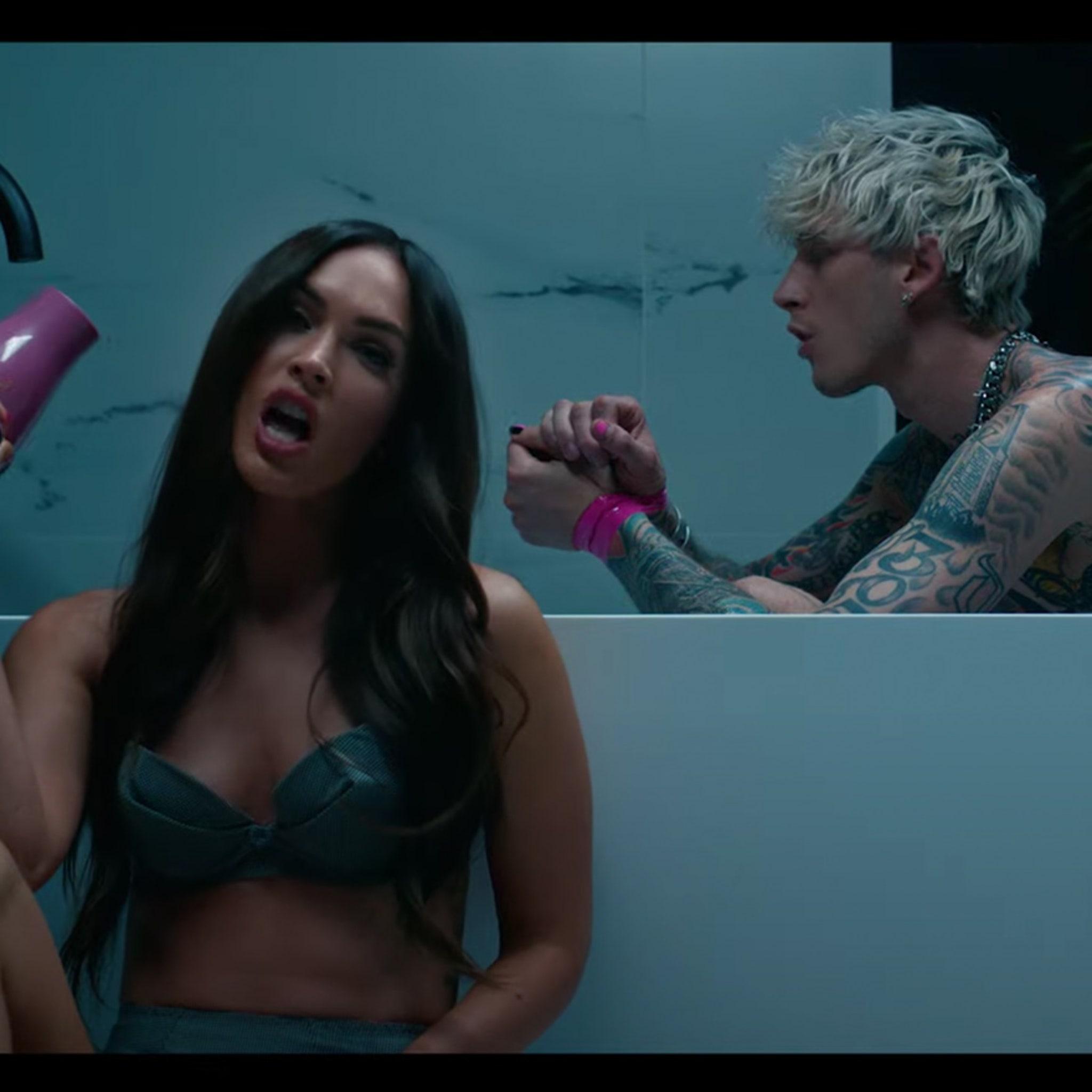 Megan Fox Appears In Machine Gun Kelly S Steamy New Music Video