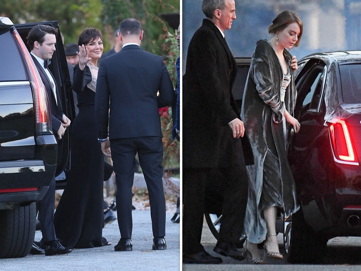 Guests Arrive to Jennifer Lawrence And Cooke Maroney's Wedding