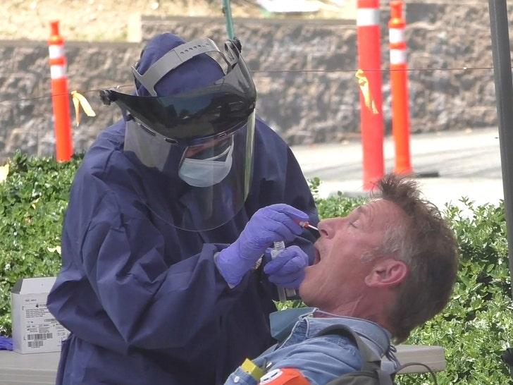 Sean Penn Gets Coronavirus Test in Malibu - EpicNews