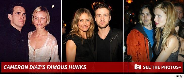 Cameron Diaz's Famous Hunks