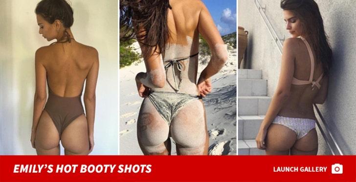 Emily Ratajkowski's Hot Booty Shots