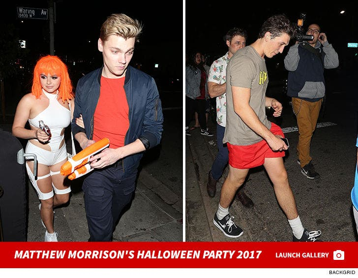 Matthew Morrison's Annual Halloween Party 2017