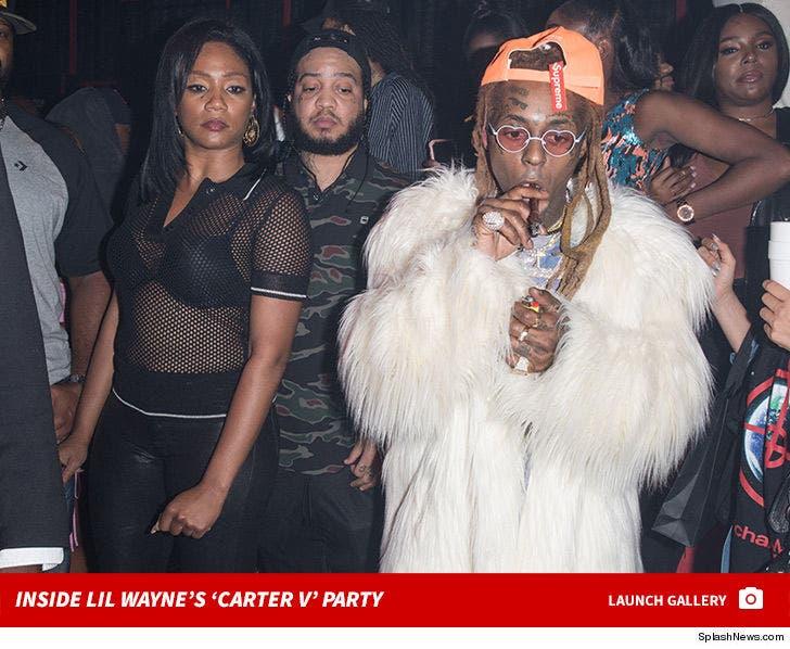 Inside Lil Wayne's 'Carter V' Party