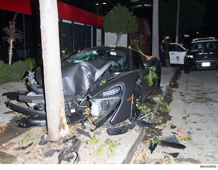 Ex-BET Host Terrence J's $200,000 Car Destroyed as Driver