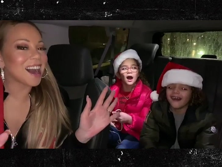 Mariah Harmony Wedding.Mariah Carey Teaches Twins Backup Vocals To All I Want For