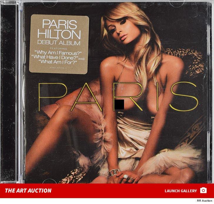 Banksy's Paris Hilton Album -- The Auction Item