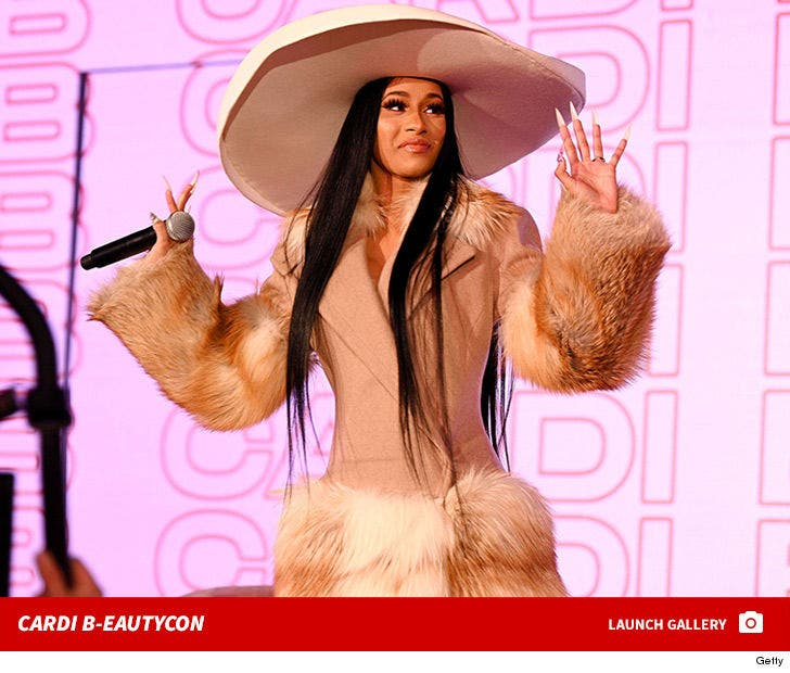 Cardi B Speaking at Beautycon