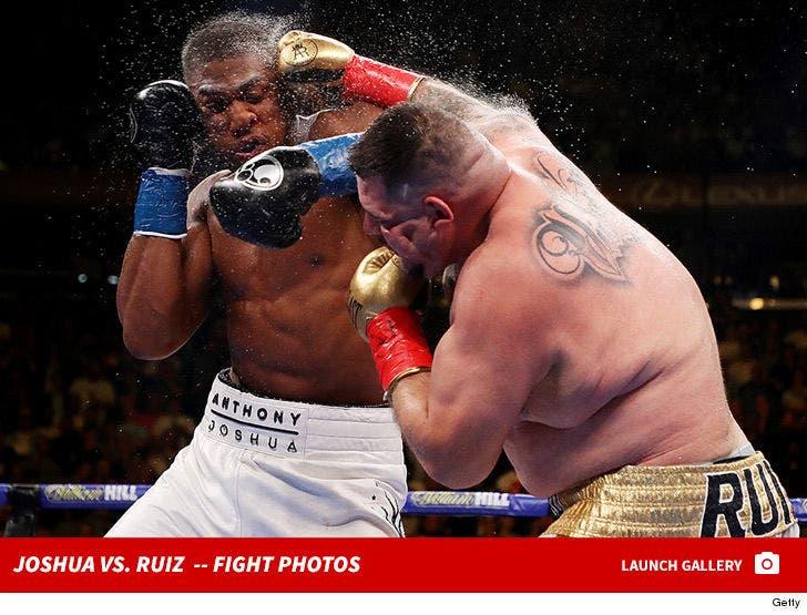 Anthony Joshua vs. Andy Ruiz Jr -- Fight Photos