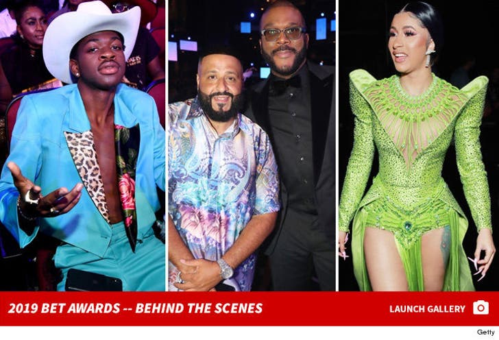 2019 BET Awards -- Behind The Scenes Photos
