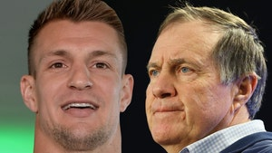 Rob Gronkowski Writes Sappy Letter To Bill Belichick, I Don't Hate Him!