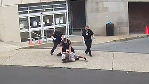 D.A. Investigating After P.A. Cop Put Knee On Man's Neck, New Video