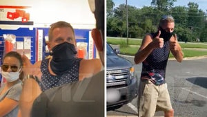 Post Office Battleground, Man Drops Homophobic Slurs in Face Mask Argument