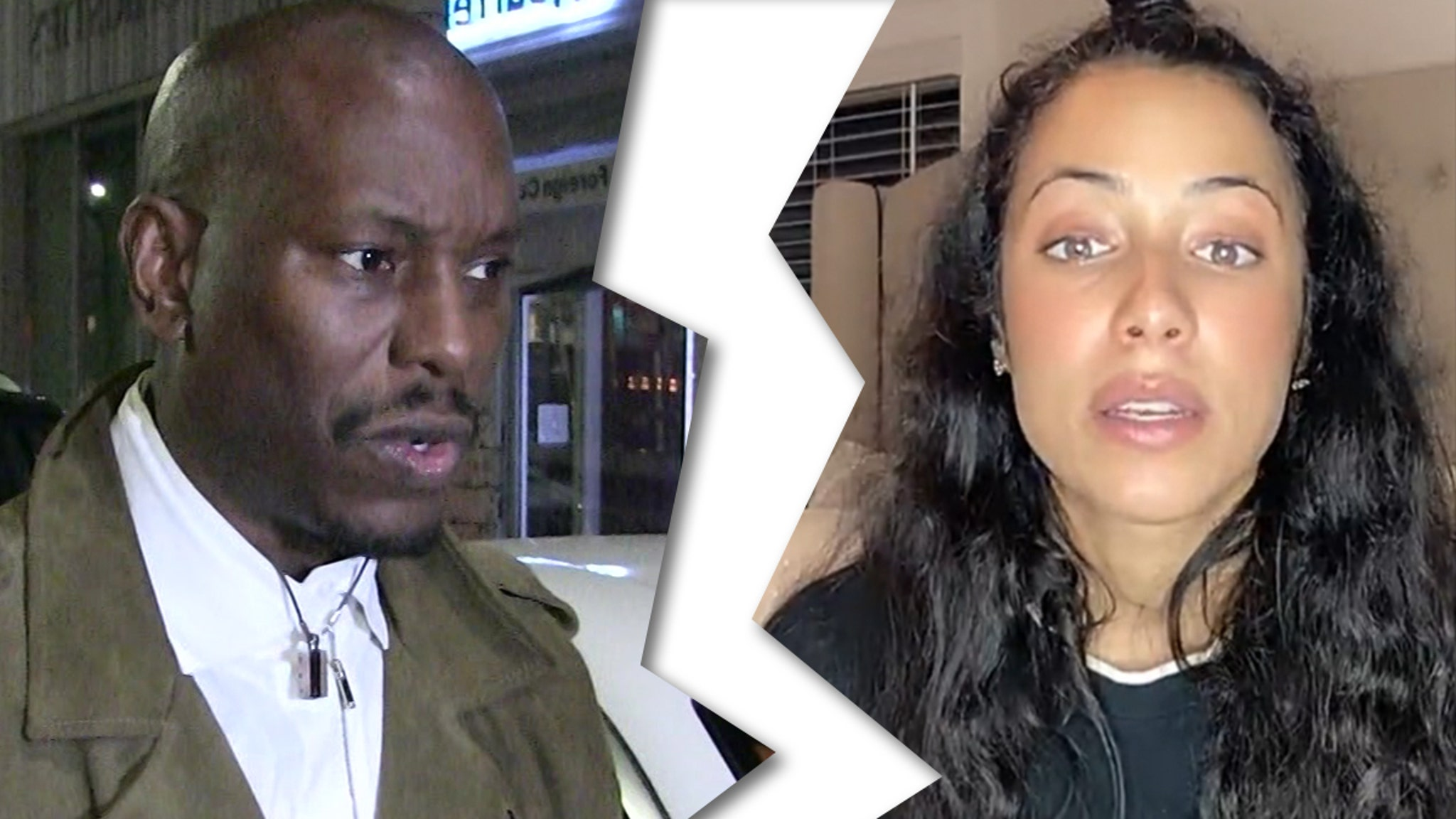 Tyrese and Wife Samantha Announce Divorce – TMZ
