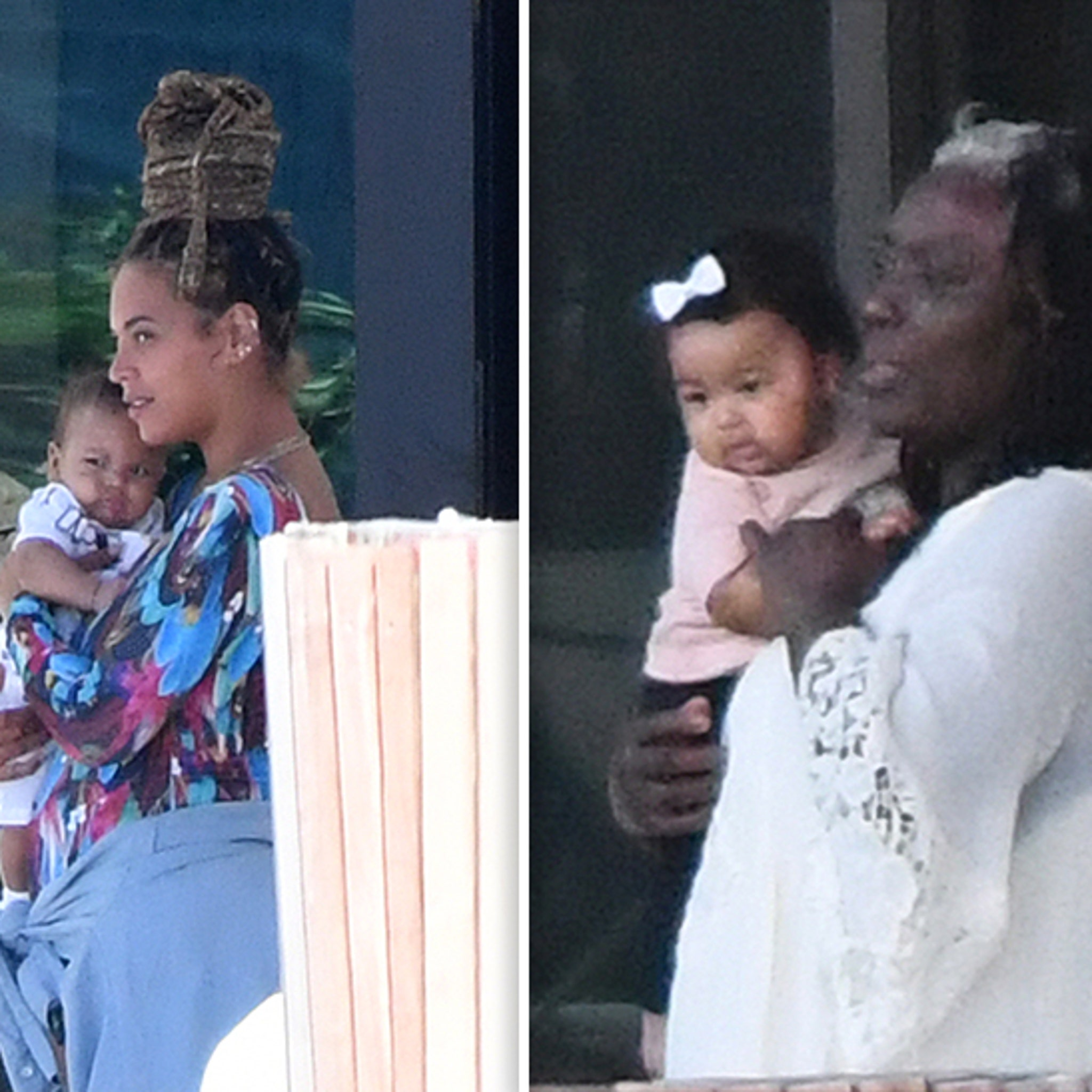 Beyonce And Jay Z S Twins Sir And Rumi Openly Seen After 5 Months