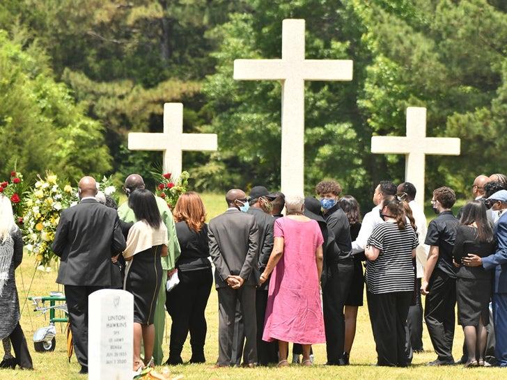 Little Richard Funeral Photos