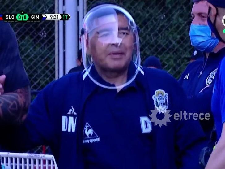 Diego Maradona Slams Critics For Mocking Buzz Lightyear Like Covid Mask