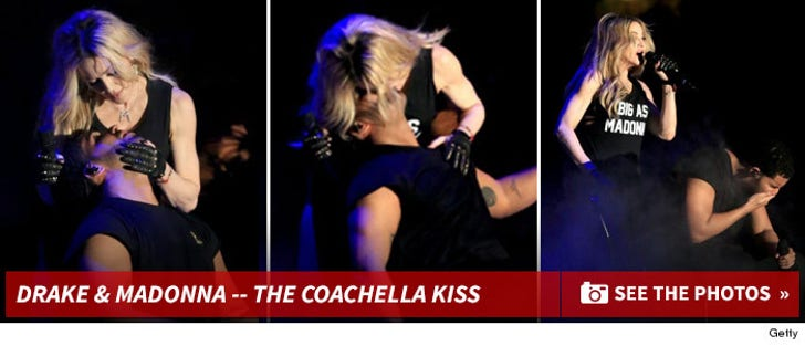 Drake -- I Wasn't Disgusted By Madonna Kiss     It Was Her