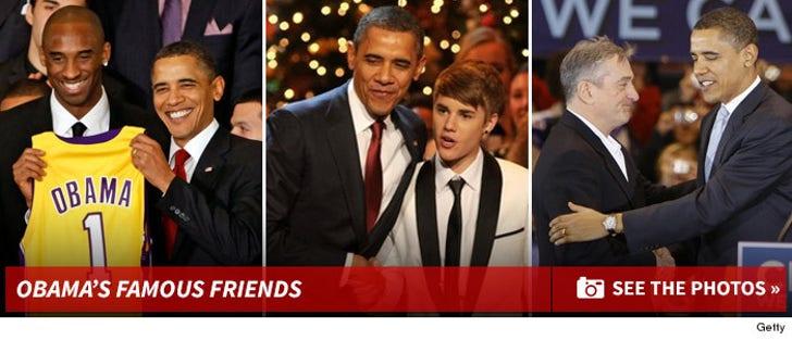 Barack Obama's Famous Friends
