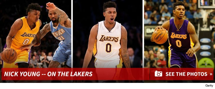 Nick Young -- On the Lakers