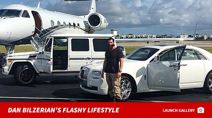 Dan Bilzerian's Flashy Lifestyle