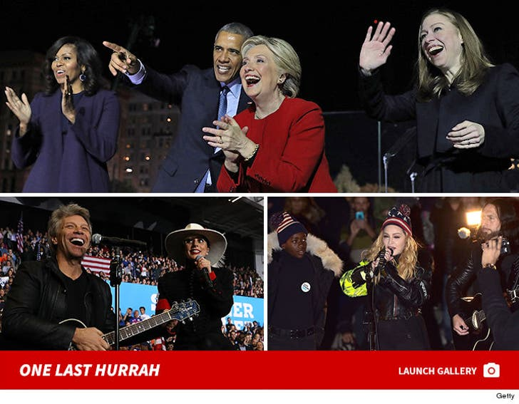 Hillary Clinton Final Rally - The Last Hurrah