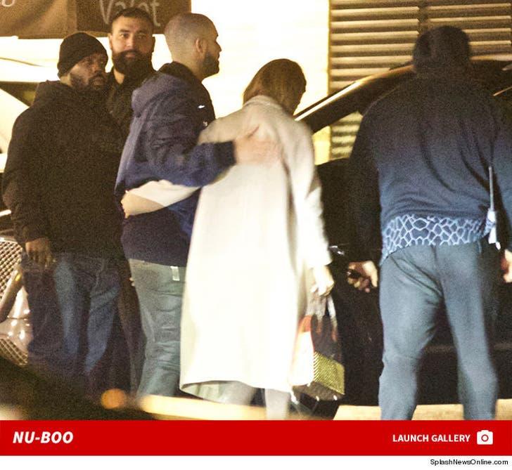 Jennifer Lopez and Drake -- Dinner Date at Nobu