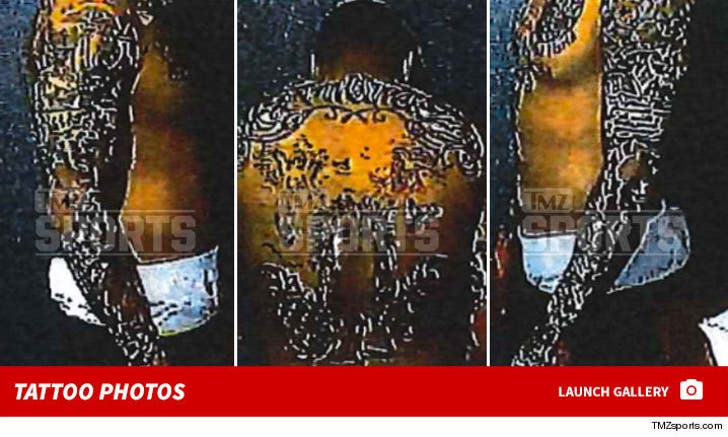 Aaron Hernandez -- Tattoo Photos