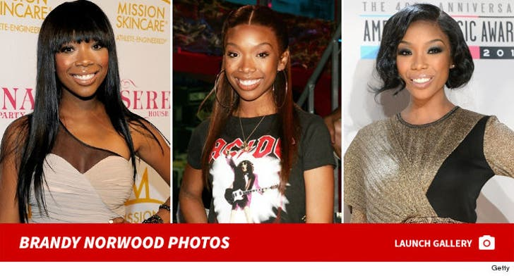 Brandy Norwood -- Through the Years