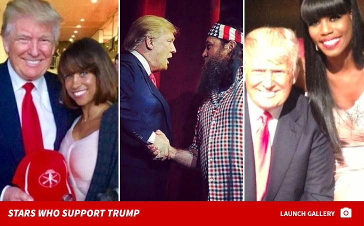 Donald Trump's Celebrity Supporters