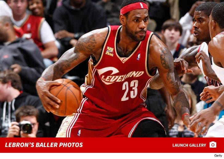 LeBron James Playin' On The Cavs