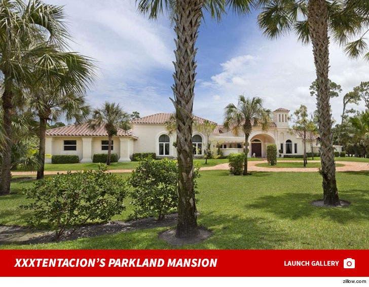 XXXtentacion Parkland Mansion