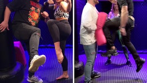 Paige VanZant Kicks Off Fight School with Huge UFC Stars