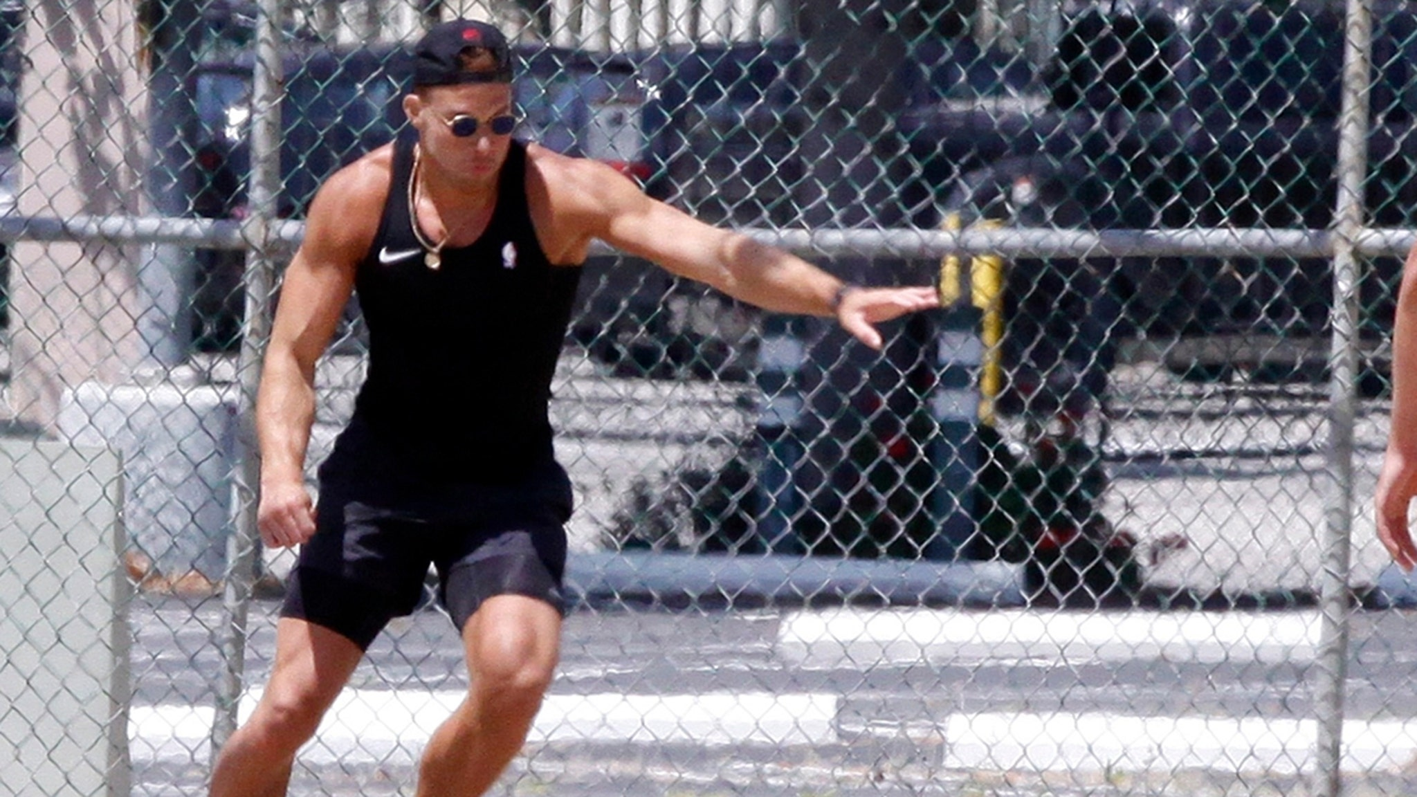 Blake Griffin, Chandler Parsons Play Kickball on Memorial Day Weekend