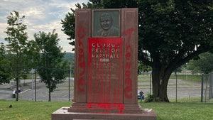 Monument Of Ex-Redskins Owner George Preston Marshall Over Racist Ties