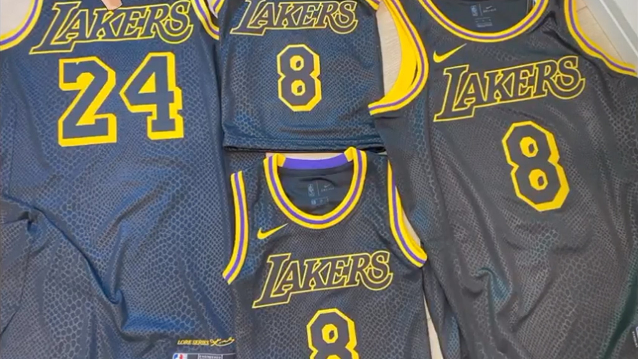 L A Lakers To Wear Kobe Bryant Tribute Jerseys In Nba Playoffs Gigi Patch