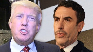 Sacha Baron Cohen Thanks Trump for Calling Him a 'Creep' for 'Borat' Stunt