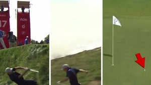 Jordan Spieth Nearly Tumbles Into Lake After Insane Shot At Ryder Cup