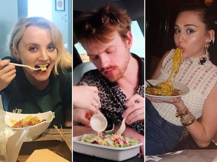 Stars Eating Vegan
