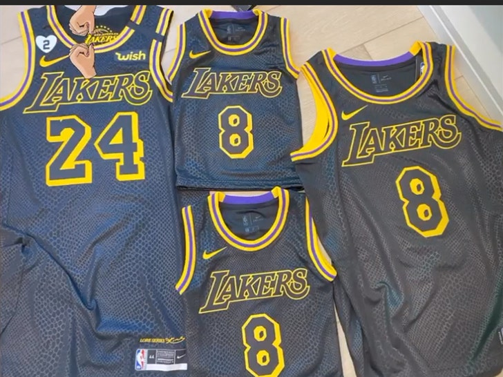 L.A. Lakers to Wear Kobe Bryant Tribute Jerseys In NBA Playoffs ...