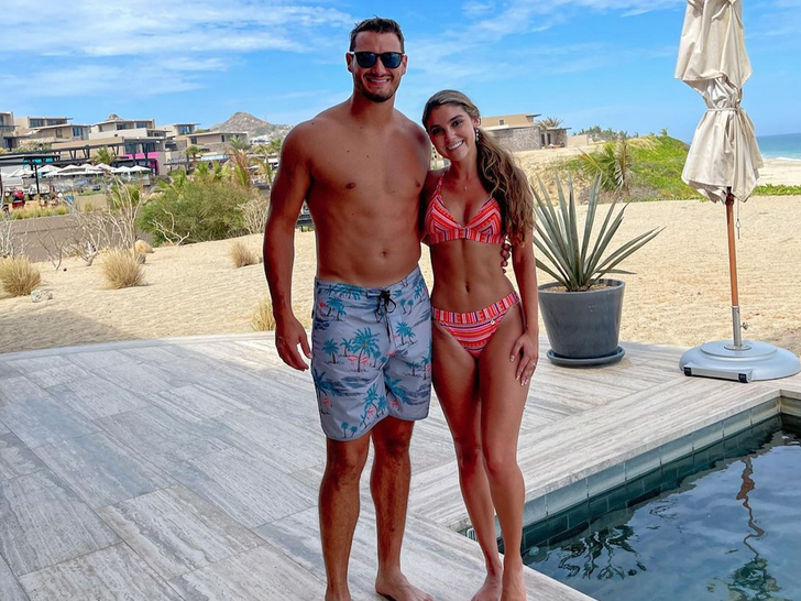 Mitch and Hillary Trubisky's Hot Honeymoon In Mexico
