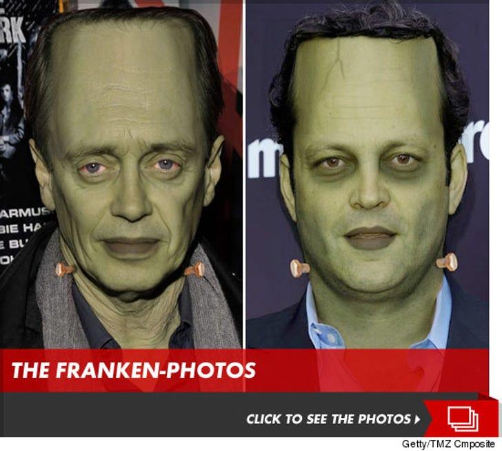 Celebrity Frankensteins