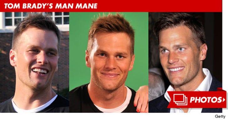 Tom Brady's Man Mane